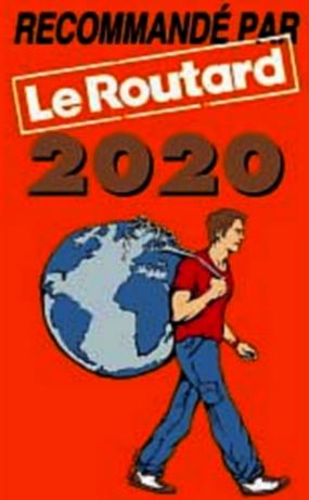 Recommandé par le Routard 2020