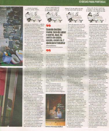 Les Roches d'Artense dans El Publico août 2015