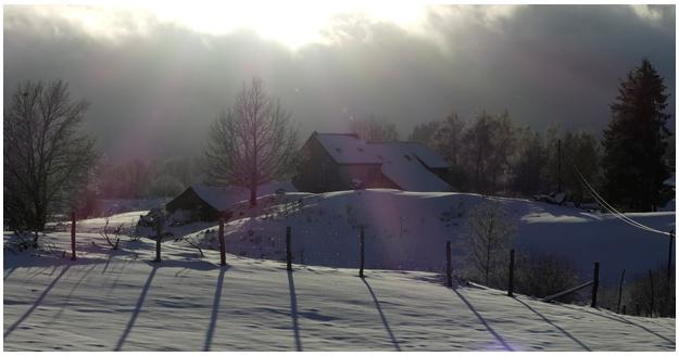 Vue hiver depuis Labanut